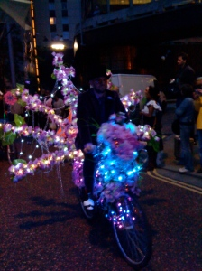 Philip Oakley Thames Festival Purple BIke