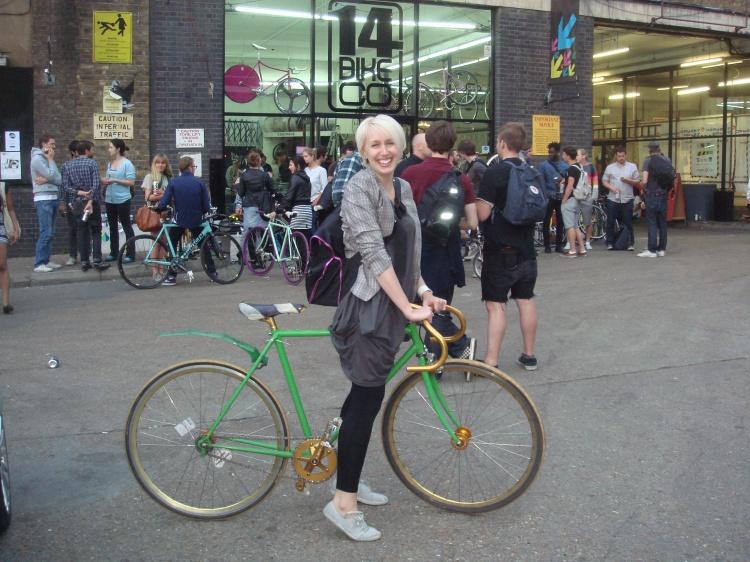 Alice Binns Cyclodelic
