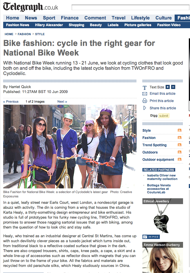 Telegraph Bike Fashion