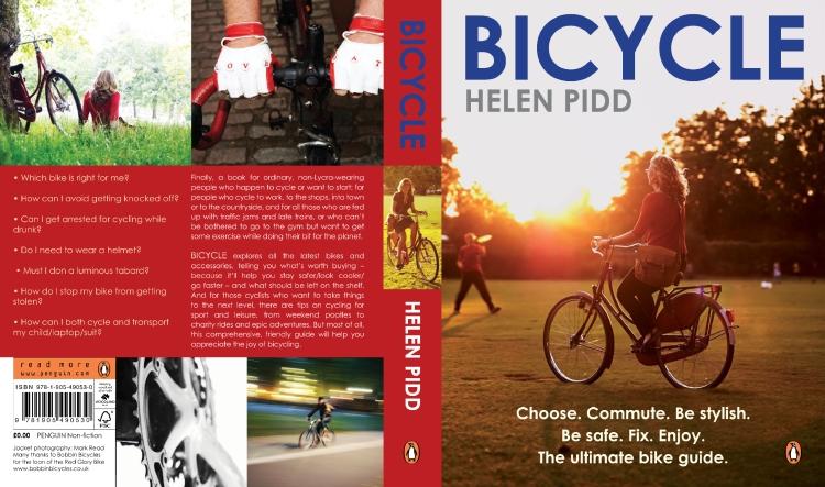 Bicycle book jacket