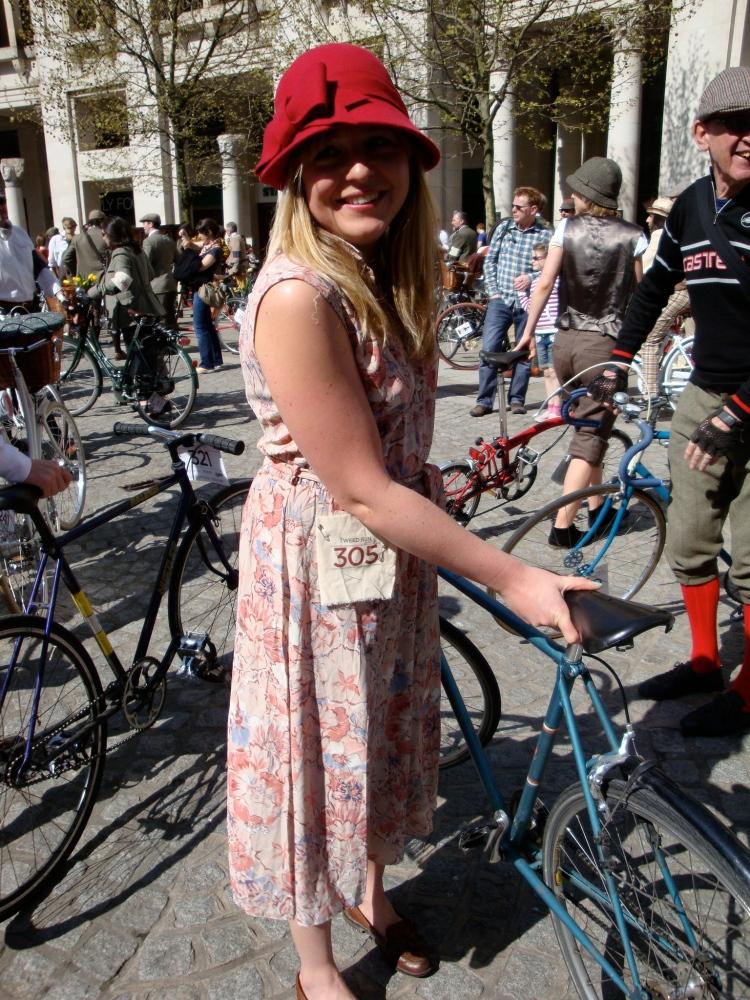 tweed run 2011, cyclodelic, womens cycle clothin