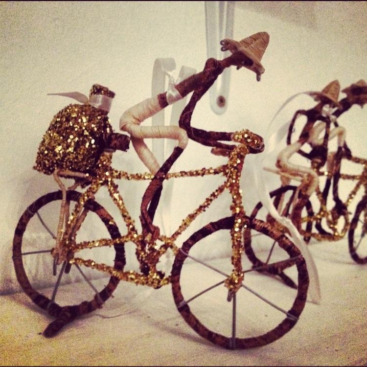 glittery bikes
